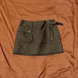 Army Green Michael Kors Skirt